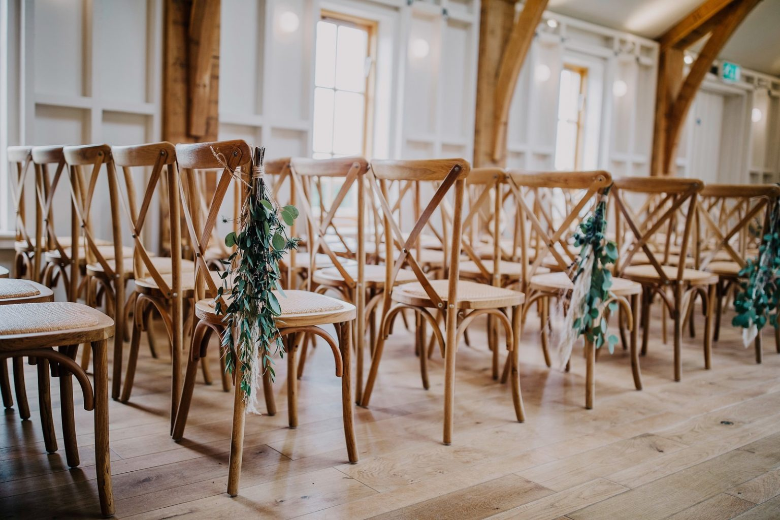 Native Florist- Winter Wedding Hyde House